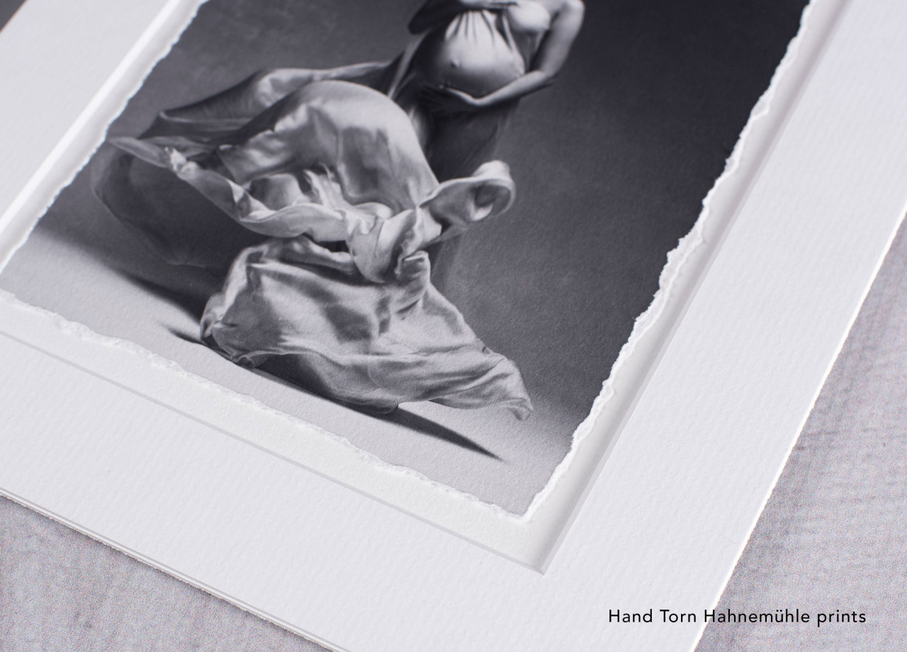 "11x14"" HAND TORN"