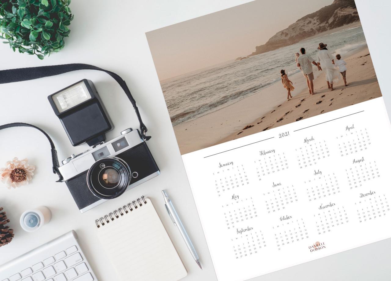 Wall calendar